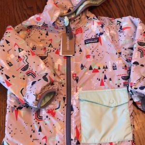 4T Patagonia reversible puffball jacket